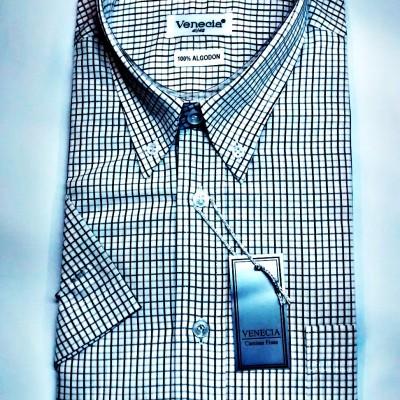 camisa_manga_corta_cuadros_venecia_rosario